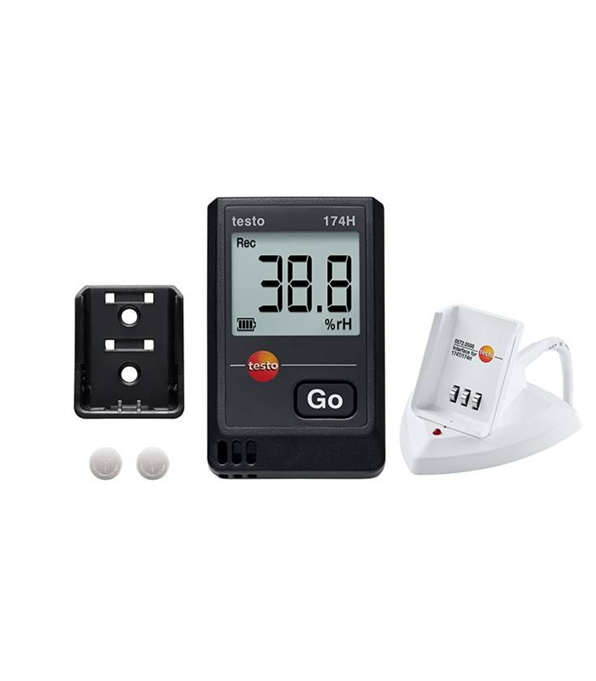 Testo 174 H Set Mini Data Logger Temperatura E Humidade
