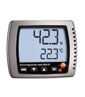 Testo 608-H2 - Termohigrómetro com alarme - T05606082