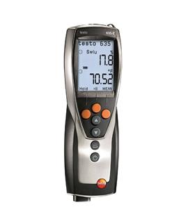 Testo 635-2 - Instrumento de medição de humidade - T05636352