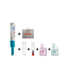 Kit testo 206-pH1 - Medição de pH / temp para liquidos - T05632065