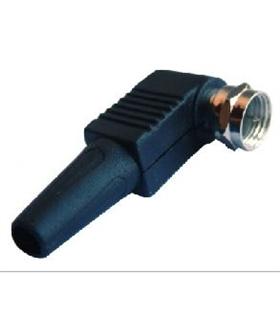 Conector RF Macho, F, Enroscar, 6.5mm - 69FM