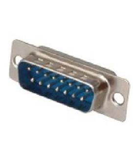 Conector Sub-D, Macho, 15 Pinos, Soldar - 69D15PM