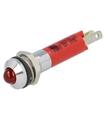 19040353 - Sinalizador 24VDC Vermelho 8mm IP40 - 19040353