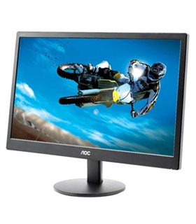 "MP19LCDOE970SWN - Monitor 18.5"" TN AOC E970SWN HD 60Hz 5MS - MP19LCDOE970SWN"