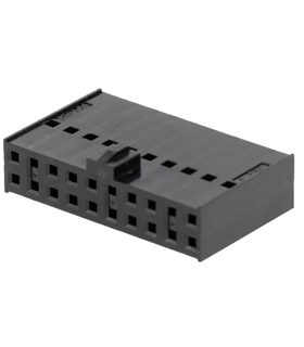 90142-0020 - Conector Fio/Placa ,Femea,  20 pinos, 2.54mm - MX901420020