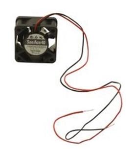 AFB0424LB - Ventilador 24Vdc, 40x40x15mm, 1.2W, 2 Fios - AFB0424LB