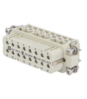 09200162812 - Conector HAN, Femea, 16 Pinos - 09200162812