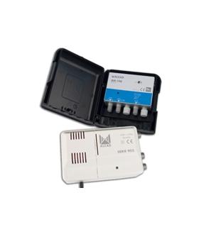 kit amplificador AM-190 G:20db + alimentador, rejeição LTE 7 - BO-190