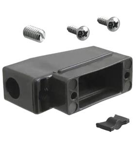 Tampa Para Conector Sub-D, 9 Pinos, 90º - 69TD9P90
