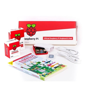 Kit Raspberry Pi 400 - MiniPC c/ Teclado Incorporado, US - RASPPI400-USKIT