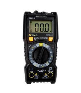 PCW01A - Multimetro Digital CATIII 600V com NCV - PCW01A