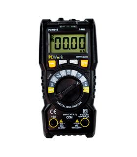 PCW01B - Multimetro Digital CATIII 600V com NCV - PCW01B