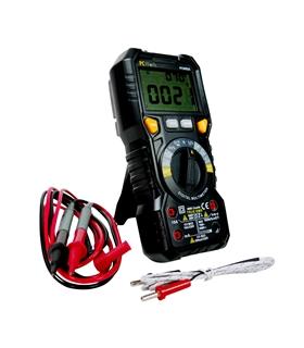 PCW02A - Multimetro Digital CATIII 1000V com NCV; Cap; Temp - PCW02A