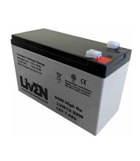 LVH12-28W - Bateria AGM 12V 7Ah HIGH RATE - LVH12-28W