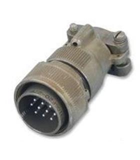 CA3106F16S-8PBF80 - Conector, Macho, 5 Pinos, Serie CA-B - CA3106F16S8PBF80