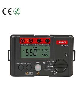 UT501B - Medidor de Isolamento - UT501B