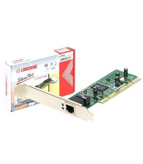 Placa Longshine 10/100/1000Mbps PCI 32Bit chipset Realtek - LH9010