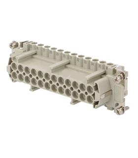 CNEF24TN - Conector Retangular HDC, 24 Pinos, Femea - CNEF24TN