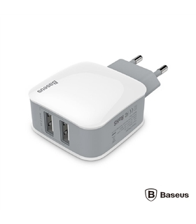 ZCL2B-B02 - Alimentador Compacto Comutado 2 USB 5v 2.4a - ZCL2B-B02