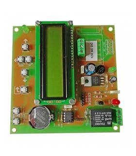 I-521 - Programador Semanal 12VDC - I-521