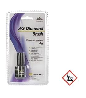 AGT-123 - Pasta Termica 4g - Pincel Aplicador - AGT-123