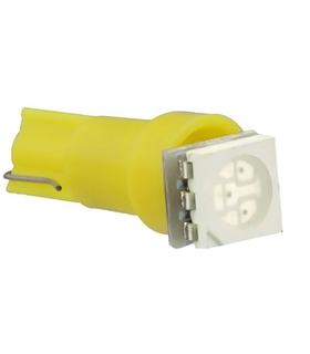 Lampada LED 12V T05 Amarelo - LL12T05Y