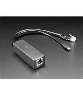 3785 - PoE Splitter with MicroUSB Plug Isolated 12W 5V 2.4A - ADA3785