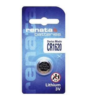Pilha Litio 3V Preço Unitario - Renata - 169CR1620R