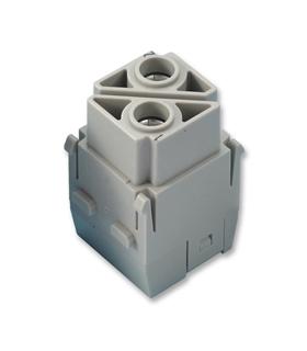 09140022751 - Conector HAN, 2 Pinos, 100A - 09140022751