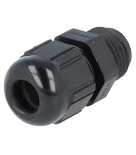 Bucim Preto 12.5mm PG7 Para Cabos 2.5-6.5mm - LAPP53015200