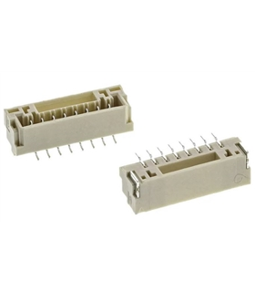 BM08B-GHS-TBT - Conector, JST, serie GH, PCB 90º, 8 Pins - BM08BGHSTBT