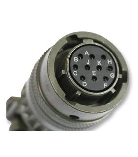 85136A107P50 - Conector Circular, 851 series, 7 Contactos - 85136A107P50