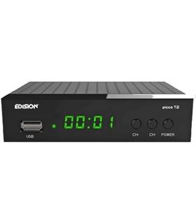 PICCO T2 - Receptor Digital Terreste TDT DVB-T2 - PICCOT2