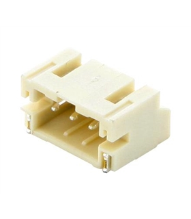 620103131822 - Ficha, PCB, WR-WTB, 2mm, 3 Pinos - 620103131822