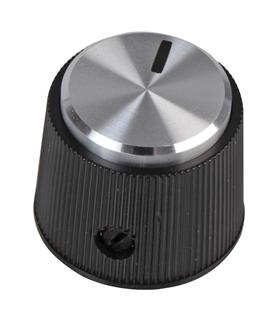 MP1699 - Botao Potenciometro, 6mm, com Indicador 19mm - MP1699