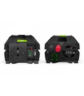 Conversor 12V/230V 1000W Onda Pura - INV09