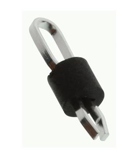 Pontas Teste PCB, 1.6mm, Preto, Pack 100 - 5011