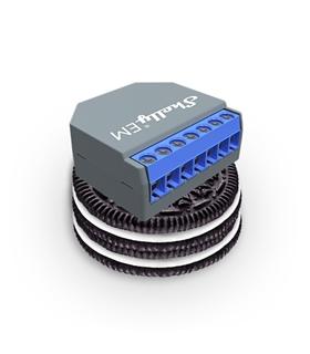 Shelly EM - Módulo Medidor de Consumo Duplo WiFi - SHELLYEM