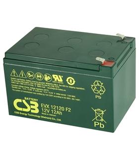 Bateria VRLA Deep Cycle 12V 12Ah CSB - EVX12120