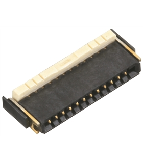 AYF530435 - Conector FFC/FPC, 0.5mm, 4 Pinos - AYF530435