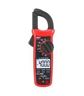UT201+ - Pinça Amperimetrica 600V 400A AC - UT201+