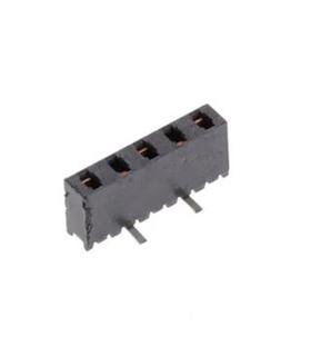 MMS-105-02-F-SV - Header, 5 pinos, Femea, CI - MMS10502FSV