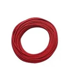 6734-2 - Cabo PVC, Vermelho, 3.6mm, 15.24 mts, Pomona - 6734-2