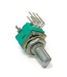 P0925N-FC15BR50K - Potenciometro, Duplo, 50k, 9mm - P0925NFC15BR50K