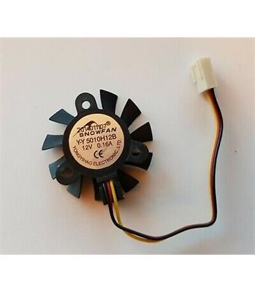 YY5010H12S - Ventilador 12V 0.11A 45mm, 4 fios - YY5010H12S