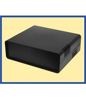 Caixa Euro preto pequeno 95x135x45 - DNKGB11