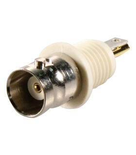 Conector RF BNC Femea, Soldar, RG58, RG59, RG179, RG316 - 03110RFXG1