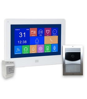 ES0522 - Kit Videoporteiro 2 Fios DAXIS Smart Home - ES0522