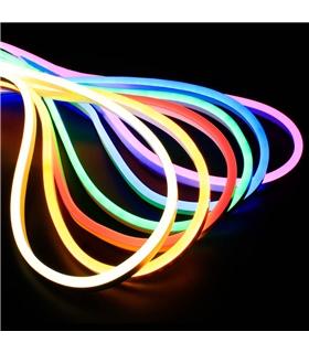 Fita LED, tipo neon, 11W 12V 6000K Branco Frio 1mt - NEONLEDCW